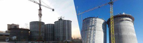 طراحی و اجرای کارخانجات آرد و سایر مواد غذایی