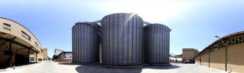 طراحی و اجرای فونداسیون سیلوهای فلزی ذخیره غلات