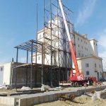 سازه فلزی سیلوهای سبوس کارخانه آرد مانا