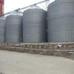 سیلوی ذخیره گندم کارخانه صنایع غذایی نو آفرین